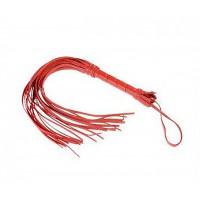 Плеть Sitabella collection, кожа красная  3010-2