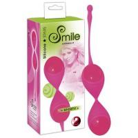 Шарики вагинальные Smile Sporty, силиконовые