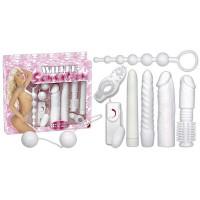 Секс набор White Sensation Set, 8 предметов