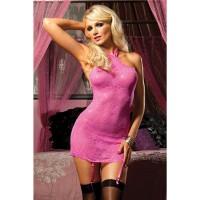 Легкое платье сорочка с кружевным рисунком Seven Till Midnight