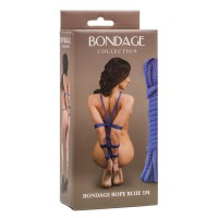 Веревка Bondage Collection Blue 3m, голубая