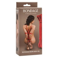 Веревка Bondage Collection Red 3m, красные