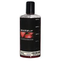 Разогревающая смазка со вкусом клубники WARMup