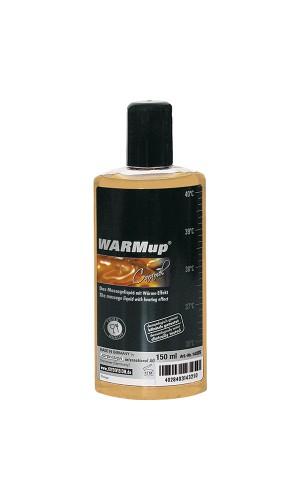 Разогревающая смазка со вкусом карамели WARMup