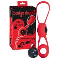 Шарики съёмные вагинальные  Boules Doubl Red