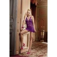 Яркое мини-платье  Barbie OS (42-46), фиолетовый