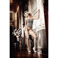 Элегантный корсет Dolce Vita с подвязками для чулок