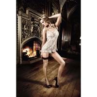 Роскошное мини-платье Dolce Vita светло-серое, One Size