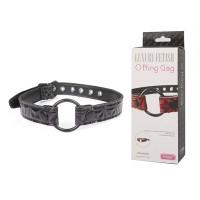 Кляп - кольцо O Ring Gag, фиолетовый, винил