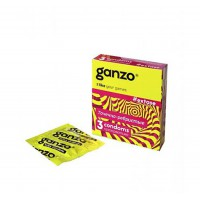 Презервативы GANZO EXTASE № 3 ребристые, анатомические
