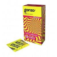 Презервативы GANZO EXTASE № 12 ребристые, анатомические